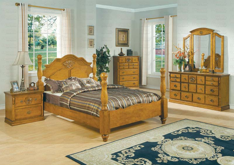 SAVE BIG On The PINE CUSTOMIZABLE BROOKE BEDROOM SET QUEEN