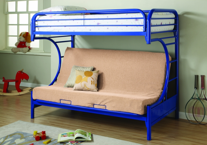 Twin Over Full Futon Bunk Bed : 2253Bl from mattressessale.eu size 800 x 561 jpeg 344kB