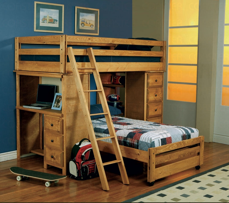 Twin Over Loft Bunk Bed