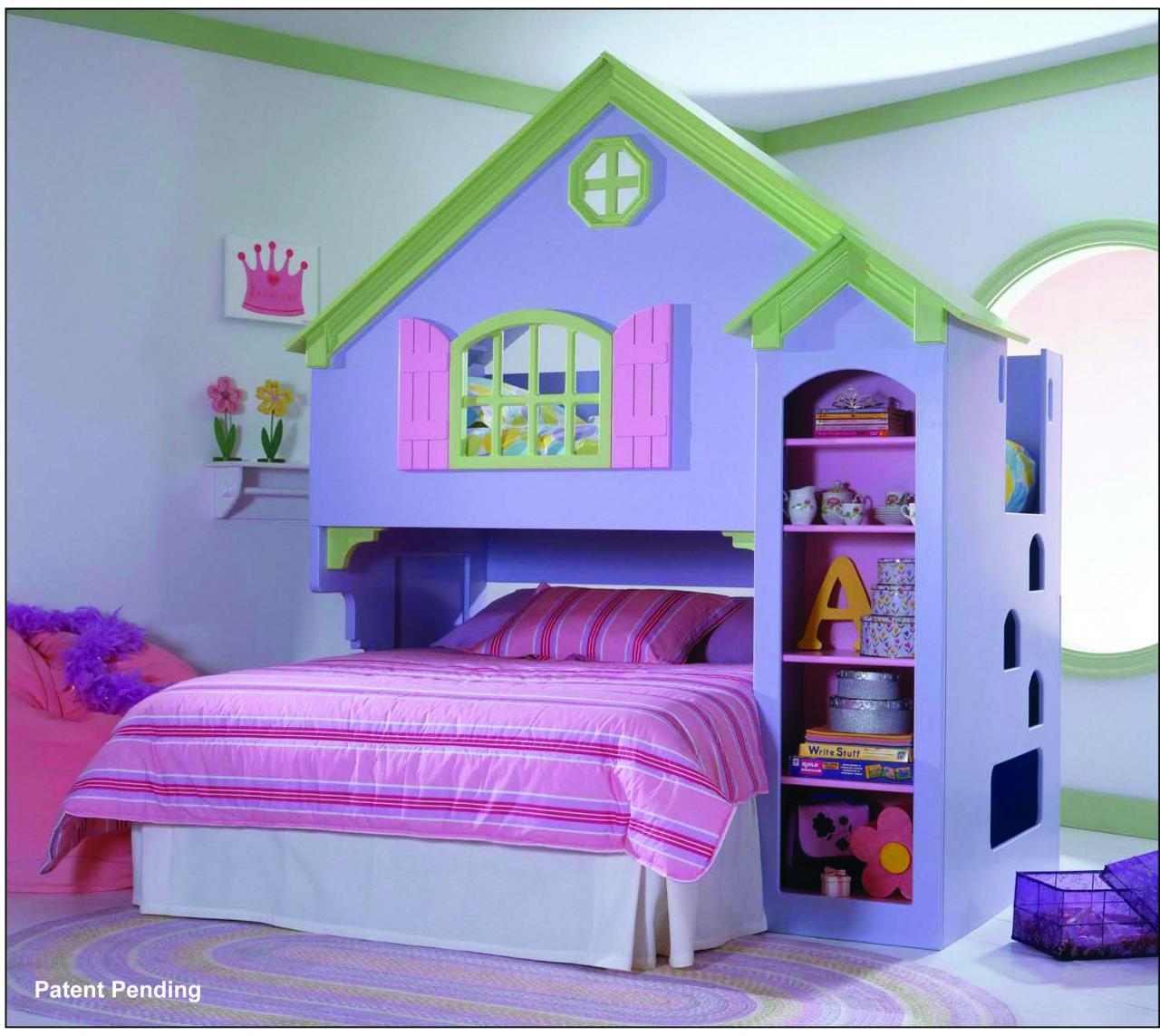 Save Big On Painted Doll House Loft Bed