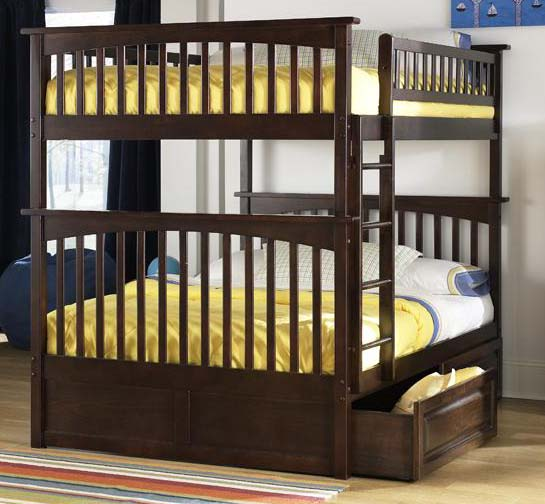 Columbia Full Over Bunk Bed