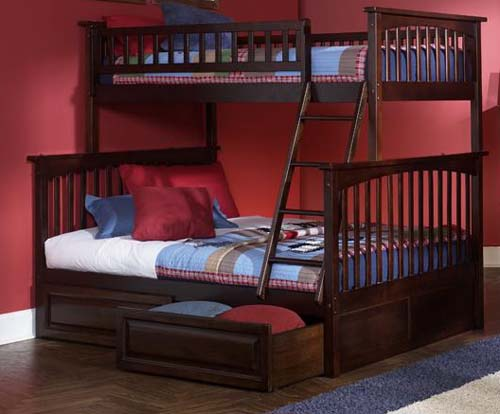 Columbia. SAVE on Atlantic Furniture Columbia Twin Over Full Bunk Bed NOW