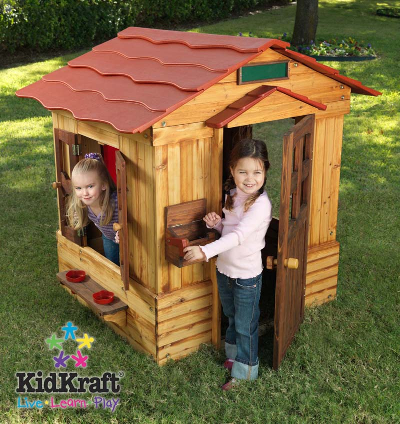 Outdoor playhouse for Big kids play house